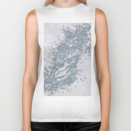 BE WATER MARBLE (abstract) Biker Tank