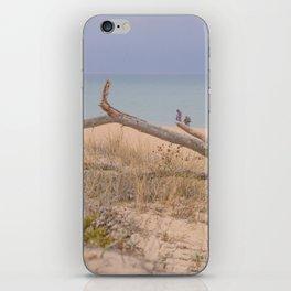 Old branch beach iPhone Skin