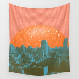 Metropolis Landing III Wall Tapestry