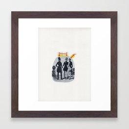 No Comment (1835) Framed Art Print