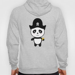 Panda Pirate with Gold T-Shirt for all Ages Dl9ai Hoody