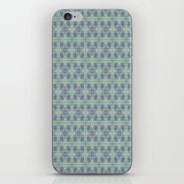 Butterfly Semi-Plaid iPhone Skin