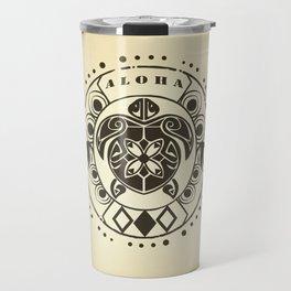 Tribal Aloha Mandala Travel Mug