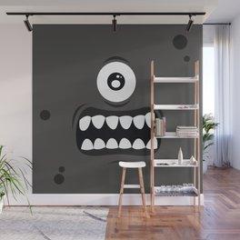 Psychos - Crazy Monsters (Black) Wall Mural