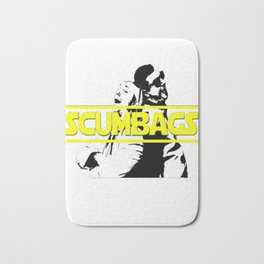 Galactic Scumbags! T-Shirt Bath Mat