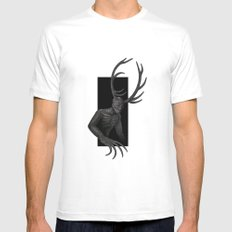 Wendigo MEDIUM Mens Fitted Tee White