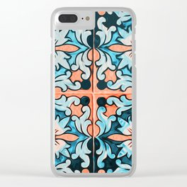 Floral Utopia Clear iPhone Case