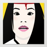 kill bill Canvas Prints featuring Kill Bill by Brettmatic