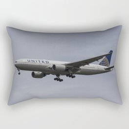 United airlines Boeing 777 Rectangular Pillow