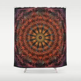 Reticulation Shower Curtain