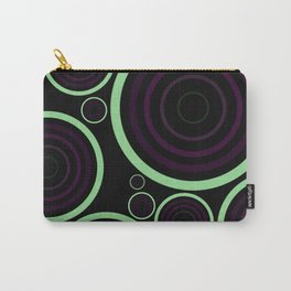 Retro Rings Carry-All Pouch