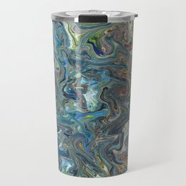 Abstract Oil Painting 19 Travel Mug