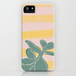 Crassula artwork iPhone Case