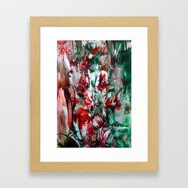 RedLilies Framed Art Print