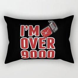 I'm Over 9000 Rectangular Pillow
