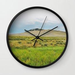 Flood Plains Wall Clock