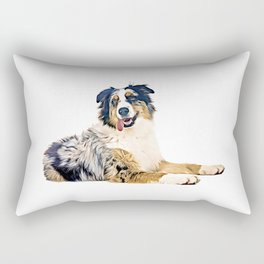 Australian Shepherd Rectangular Pillow