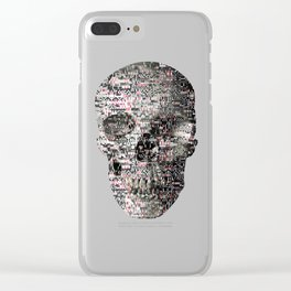 Comfortable Ambiguity (P/D3 Glitch Collage Studies) Clear iPhone Case