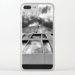 Scraping the Sky Clear iPhone Case