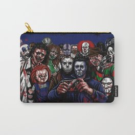 Horror Villains Selfie Carry-All Pouch