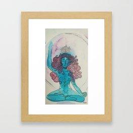 Lâche prise.. Framed Art Print
