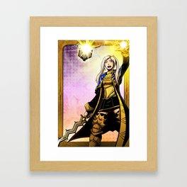 Grandmaster of Lightning Framed Art Print