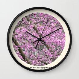 We Change Wall Clock