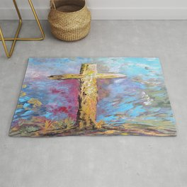 Colors of the Cross Rug