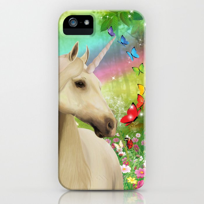 Magical Forest Unicorn iPhone Case