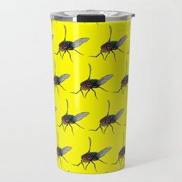 Flys pattern Travel Mug