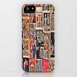 Retro Advertisements  iPhone Case
