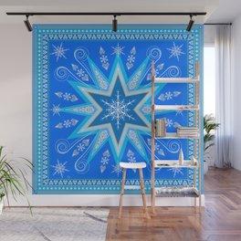 Snowflake Wall Mural