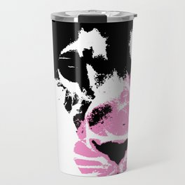 Lion Heart Africa Pink Travel Mug