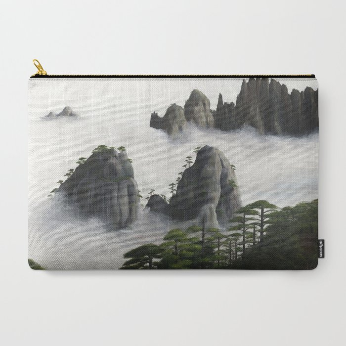 Huangshan_Yellow_Mountains_CarryAll_Pouch_by_Andrew_Lee_Artwork__Large_125_x_85