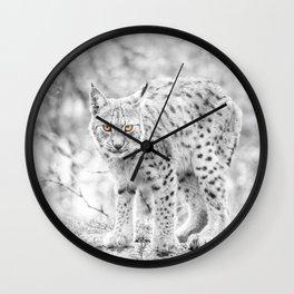 Eye contact Wall Clock