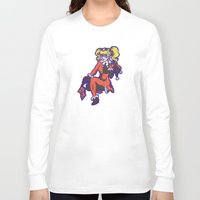 harley Long Sleeve T-shirts featuring Harley by Sophie Jewel