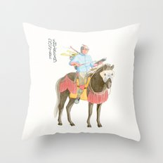 Don't be shy, read! Throw Pillow