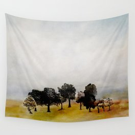 Group of Trees Wall Tapestry