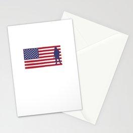 I'm Proud of My Veteran Grandpa Patriotic Stationery Cards
