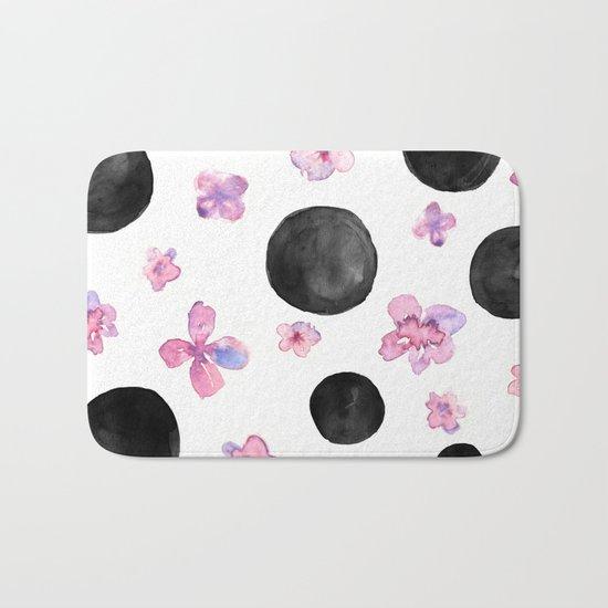 Flora dots Bath Mat