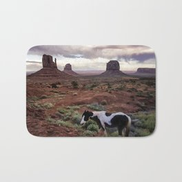 Horse in the Valley Bath Mat
