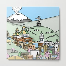 Quito Metal Print