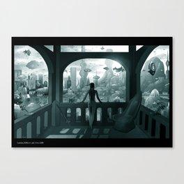 Future London Canvas Print