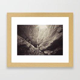jura creek Framed Art Print