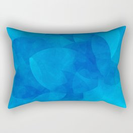 Schnittmenge III Water Rectangular Pillow