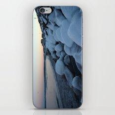 Snowballs on the Beach iPhone & iPod Skin