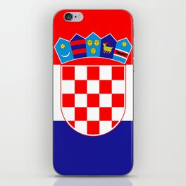 Flag of Croatia iPhone Skin