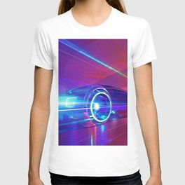 Abstract Race Car T-shirt