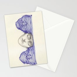 Sunset and schizophrenia  Stationery Cards