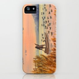 Duck Hunting On A perfect Day iPhone Case